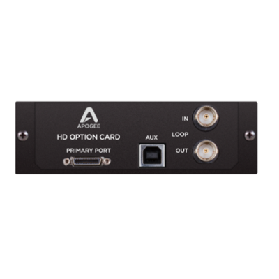 Apogee HD Option Card