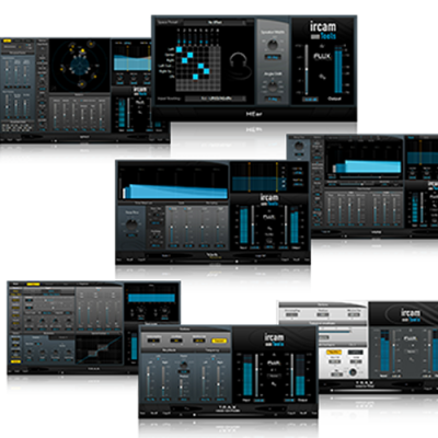 Flux Ircam Tools plug-in spat V3