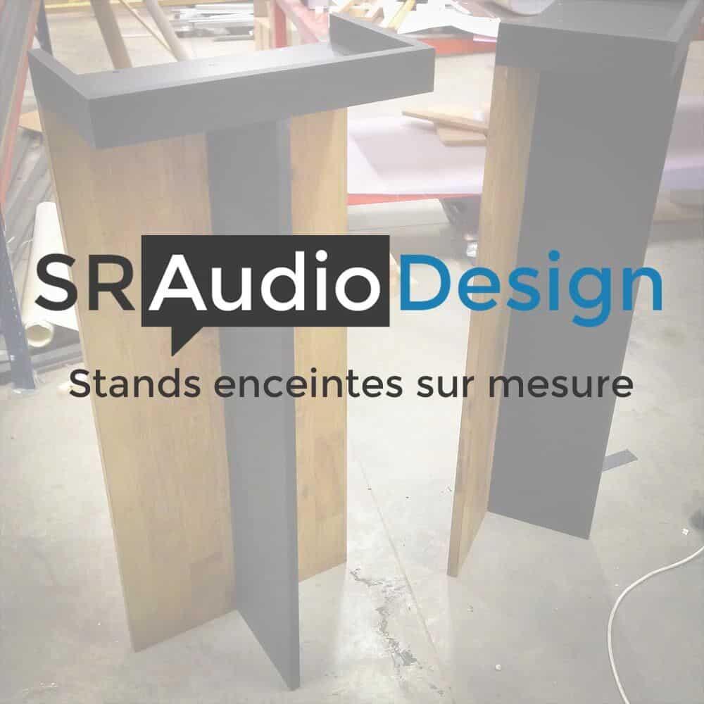 SRAudio Design   Stands enceintes