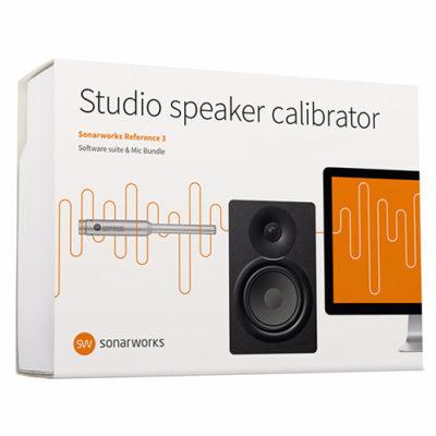 Le pack Sonarworks Reference 3 Speaker Calibration + Mic vous permet de calibrer vos écoutes en prenant en compte l'acoustique du lieu, afin d'obtenir une réponse en fréquence plus neutre