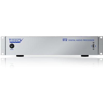 """Le Trinnov ST2 Pro est un système de monitoring qui permet la correction salle/enceintes jusqu'a 4 canaux avec fonction """"Optimizer"""" et pilotable à distance."""