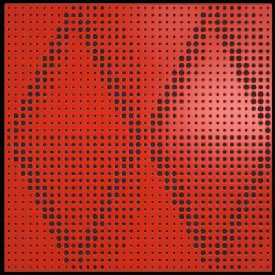 artnovion-Petra W - Bass Trap - rouge