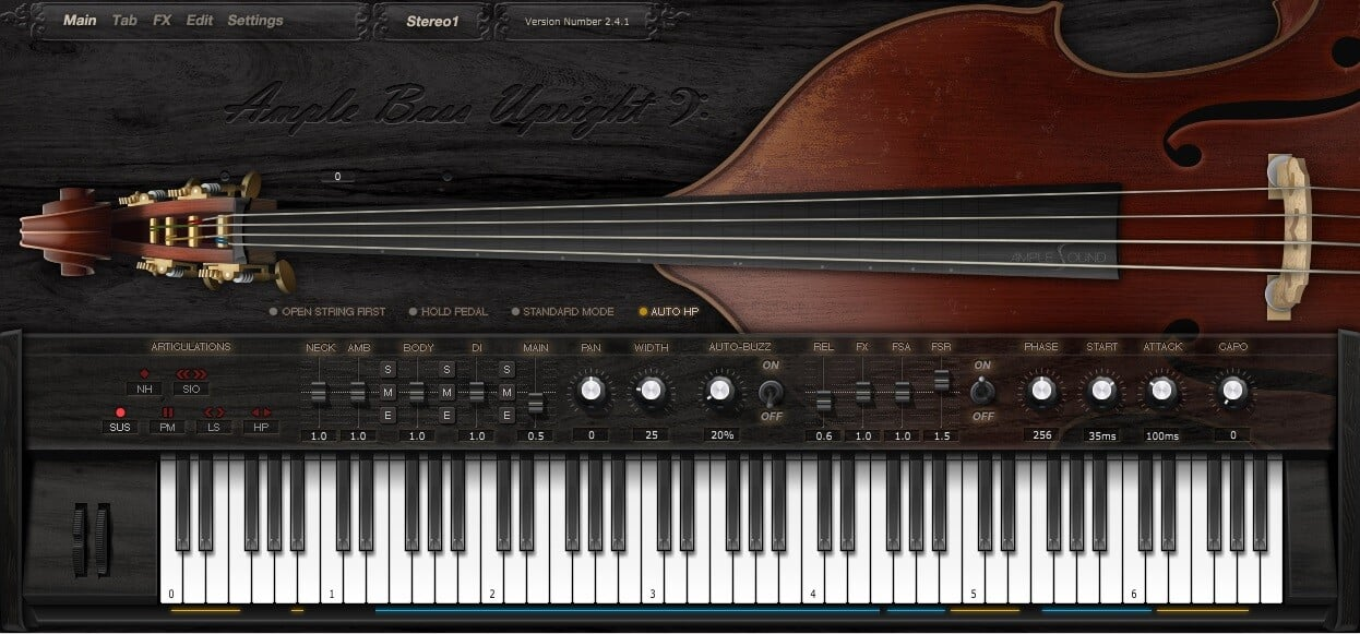 Ample_Sound_Ample_Bass_Upright_Main_GUI