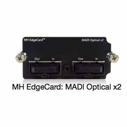 Metric Halo 1 MH EdgeCard MADI Optical x2