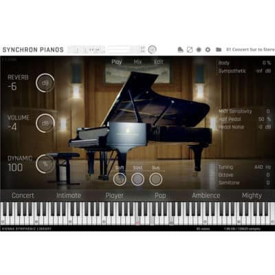 VSL SteinwayD interface