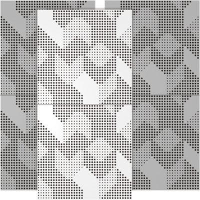 artnovion komodo Blanc komodo w bass trap wall