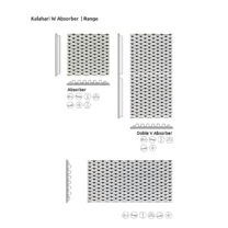 Artnovion Kalahari W Absorber formats