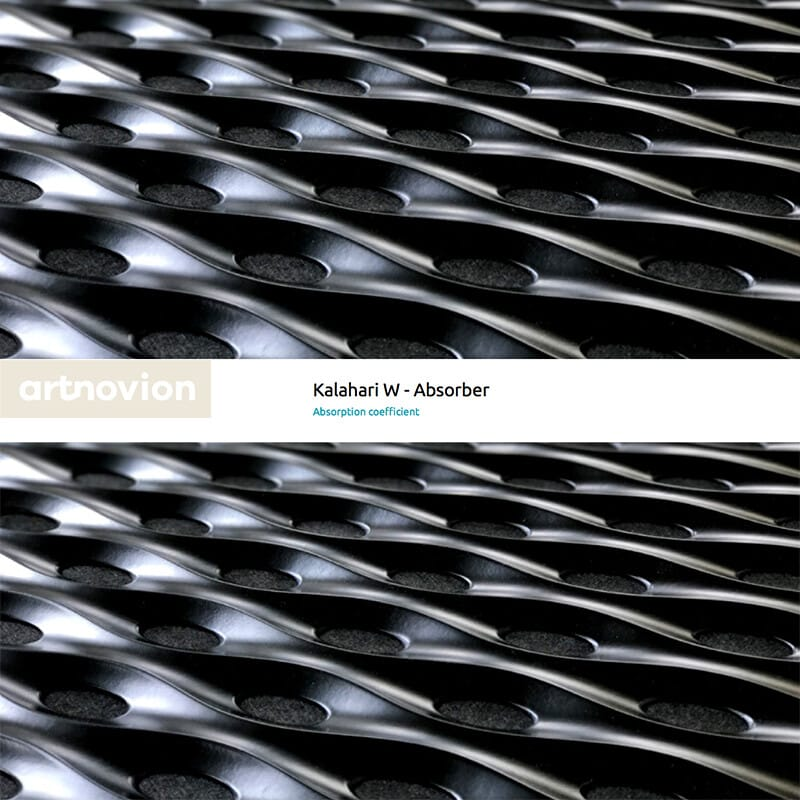 Artnovion Kalahari W Absorber motif