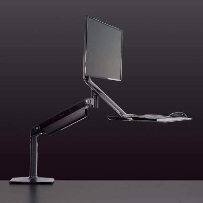 humanscale QuickStand Lite noir showroomaudio
