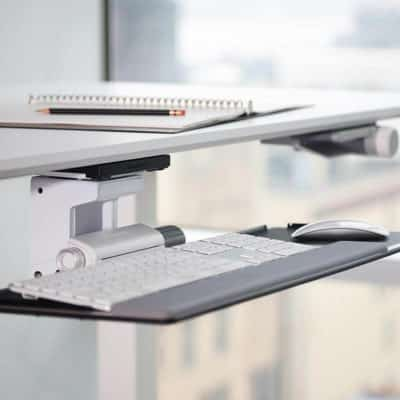 humanscale_support_clavier_ergonomic_adjustable_keyboard_tray_side_view